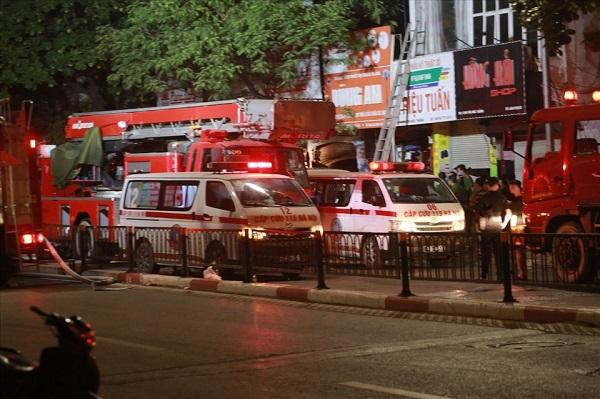 Vào 00h25 ngày 4/4 vừa qua đã xảy ra cháy tại số nhà 311 phố Tôn Đức Thắng (phường Hàng Bột, Đống Đa), gây thiệt hại to lớn về người và tài sản