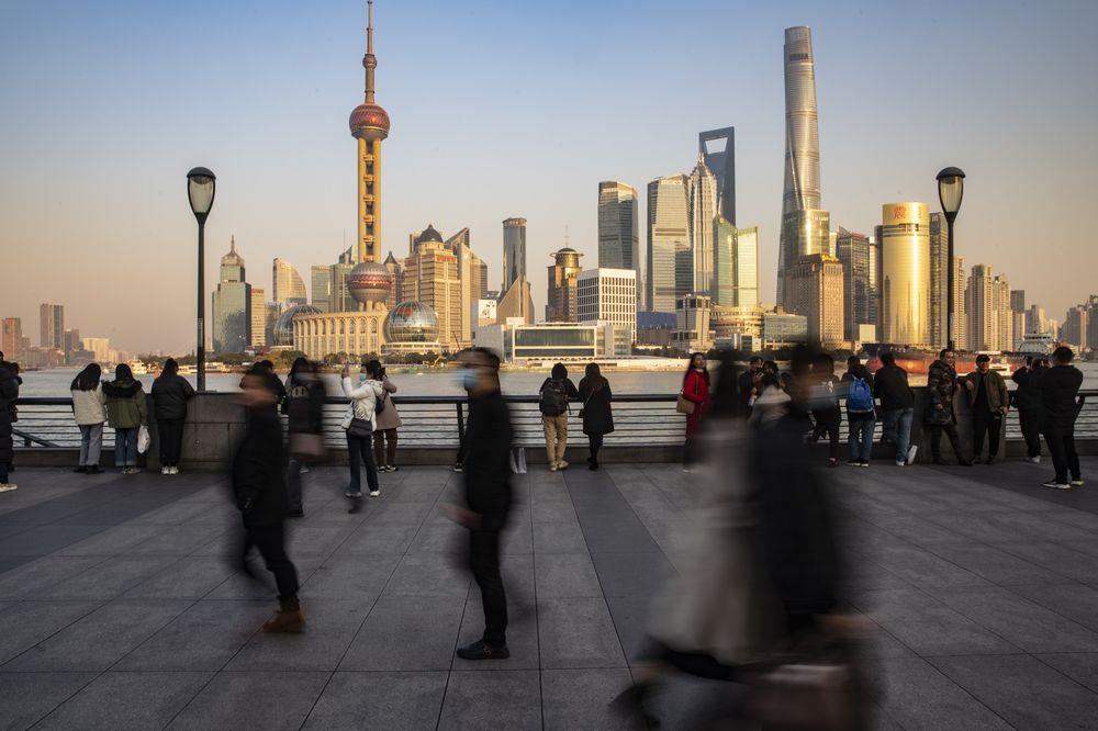 Bến Thượng Hải.Nhiếp ảnh gia: Qilai Shen / Bloomberg