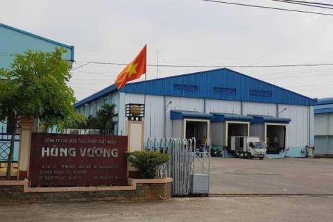 Dừng làm thủ tục hải quan đối với hàng hóa xuất khẩu, nhập khẩu của Công ty Hùng Vương