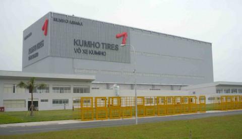 Kumho Tire đầu tư hơn 300 triệu USD vào nhà máy lốp xe ở Việt Nam