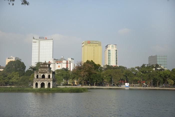 Trụ sở mới của SeABAnk nổi bật giữa phố phường Hà Nội