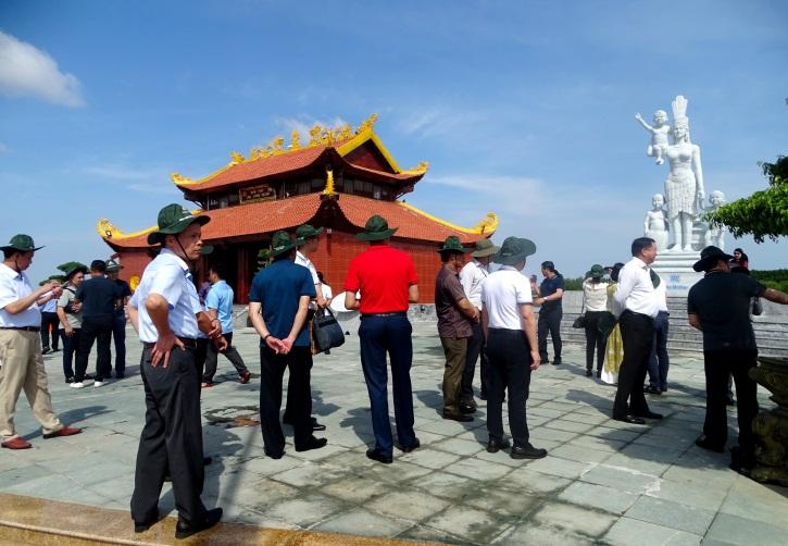 Đền thờ Lạc Long Quân, Khu du lịch Mũi Cà Mau, nơi sẽ diễn ra Lễ tri ân Quốc Tổ vào ngày 17/4/2021
