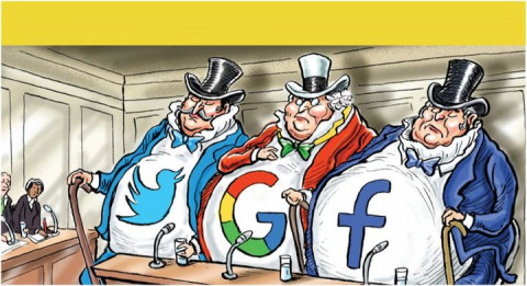 Chính trị - Công nghệ: Cuộc chiến xoay quanh chống độc quyền