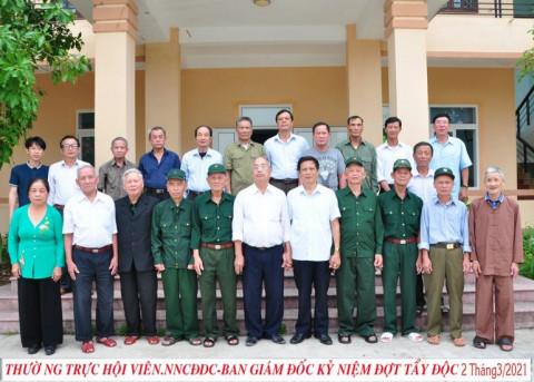 Hội nạn nhân chất độc da cam/Dioxin Quảng Bình đồng hành với nạn nhân chất độc da cam