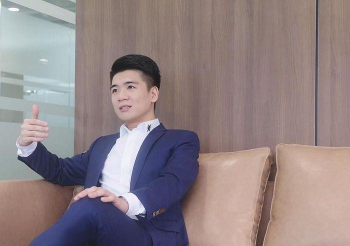 Doanh nhân Đỗ Quang Vinh. Nguồn ảnh: Internet