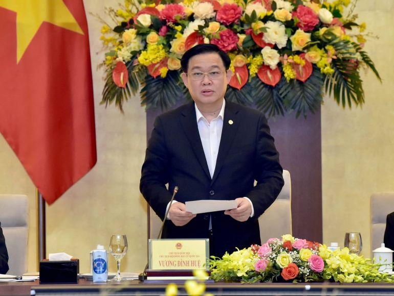 Chủ tịch Quốc hội Vương Đình Huệ đã chỉ đạo nhiều nhiệm vụ trọng tâm cho công tác bầu cử