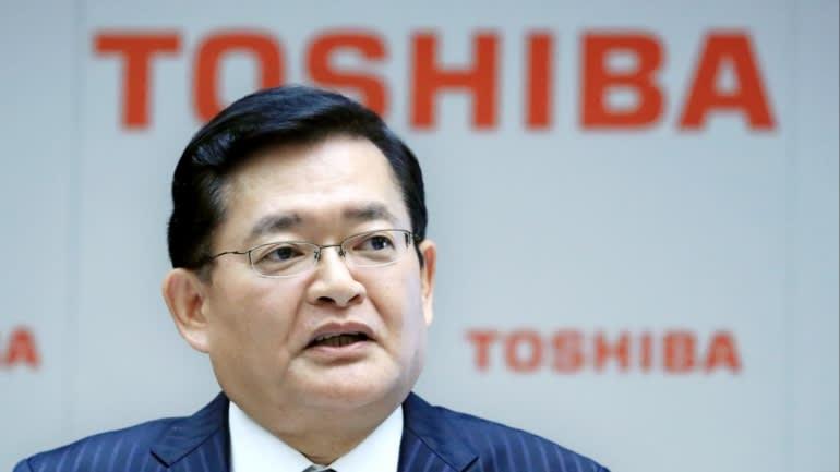 Việc tái bổ nhiệm Chủ tịch Toshiba Nobuaki Kurumatani đã trở thành tâm điểm của cuộc họp cổ đông thường niên năm 2021. (Ảnh của Taro Yokosawa)