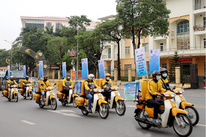 BHXH tỉnh Phú Thọ tuyên truyền cổ động để người dân biết vai trò của BHXH.