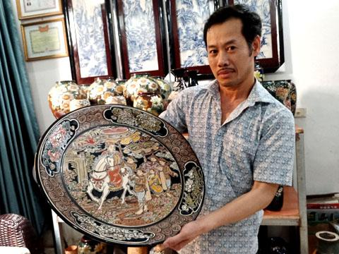 Gia Lâm (Hà Nội): Nét đẹp truyền thống từ tranh gốm Bát Tràng