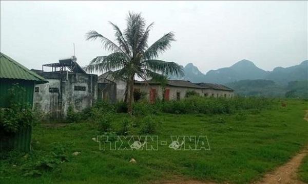 Khu đất bỏ hoang vì Dự án xây dựng nhà máy xi măng Thanh Sơn đã ngừng thi công hơn 11 năm