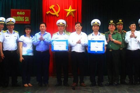 Lãnh đạo tỉnh Khánh Hòa: Kiểm tra công tác chuẩn bị bầu cử tại thị trấn Trường Sa