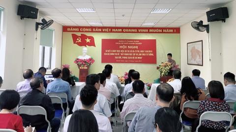 Đảng ủy Khối Doanh nghiệp quận Thanh Xuân tổ chức Hội nghị sơ kết 5 năm thực hiện Chỉ thị số 05-CT/TW về đẩy mạnh học tập, làm theo tư tưởng, đạo đức, phong cách Hồ Chí Minh