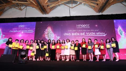 """HAWEE Leaders Forum 2021: """"Sân chơi"""" đẳng cấp của các nữ doanh nhân"""