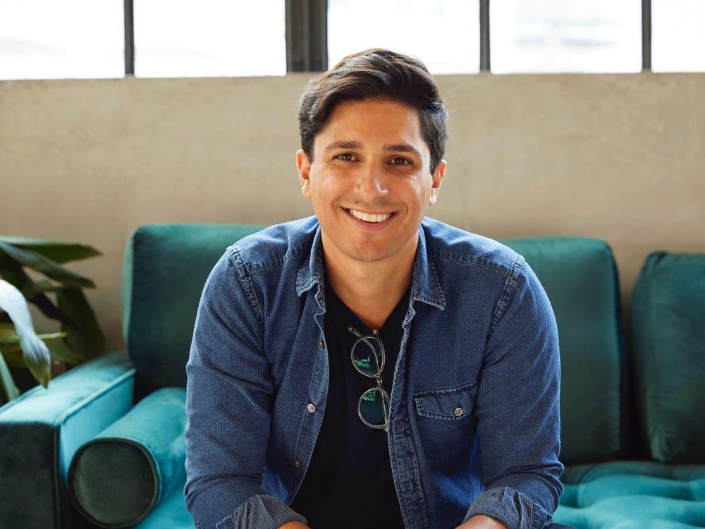 Nhà sáng lập startup, Andrew Dudum