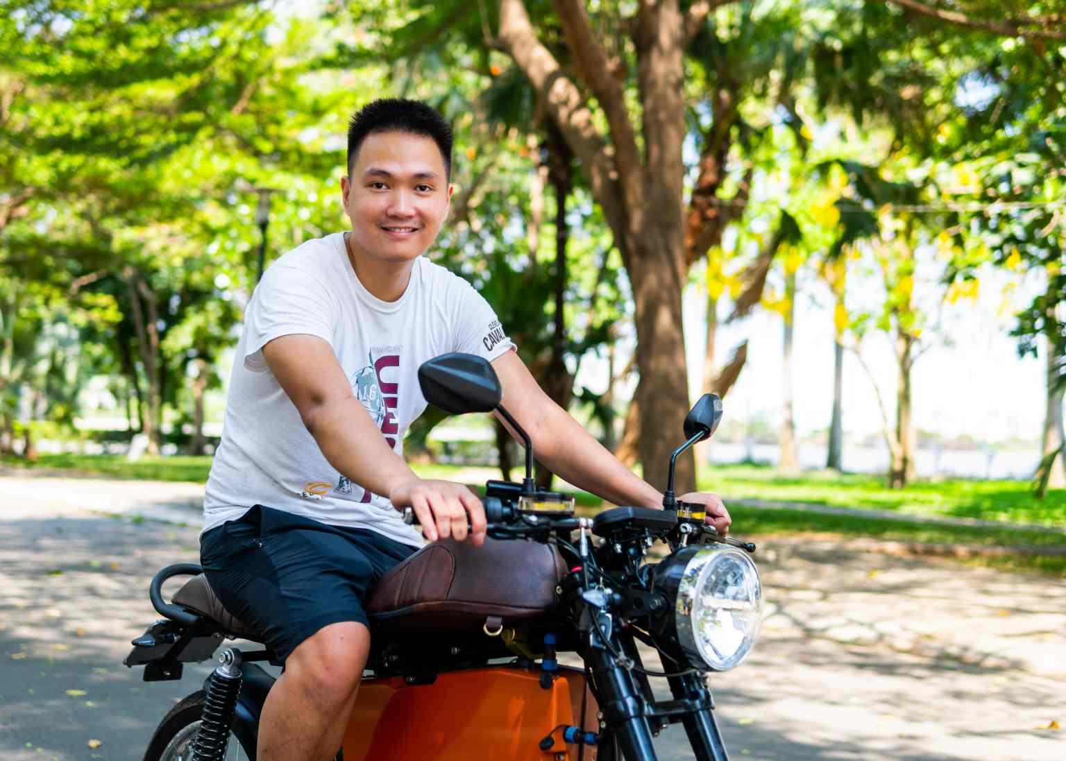 Sơn Nguyễn, người sáng lập kiêm giám đốc điều hành của Dat Bike. Tín dụng hình ảnh: Dat Bike