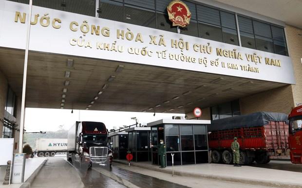 Xuất nhập khẩu qua cửa khẩu Lào Cai trong quý 1 năm nay tăng 75%