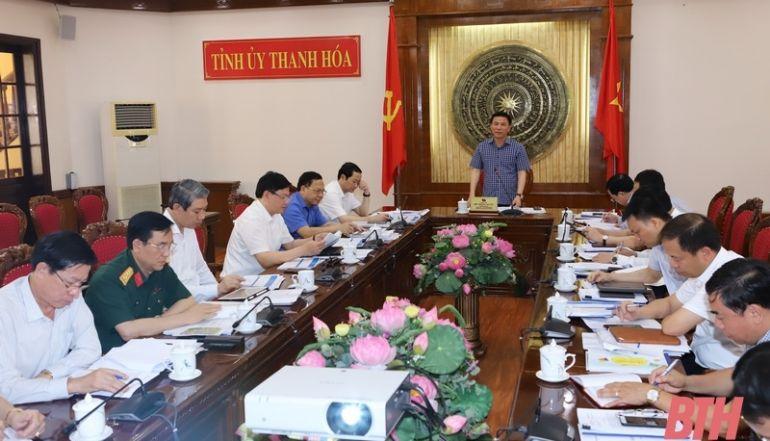Thanh Hóa: Tỉnh ủy góp ý xây dựng sự kiện Khai mạc Lễ hội Du lịch biển Sầm Sơn và chuỗi hoạt động văn hóa, thể thao, du lịch biển năm 2021
