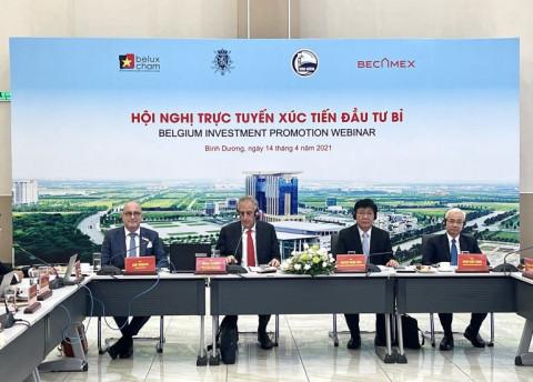 Hội nghị xúc tiến đầu tư của các doanh nghiệp Bỉ vào tỉnh Bình Dương