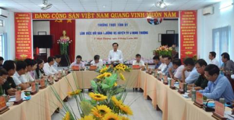 U Minh Thượng (Kiên Giang) tập trung thúc đẩy phát triển kinh tế