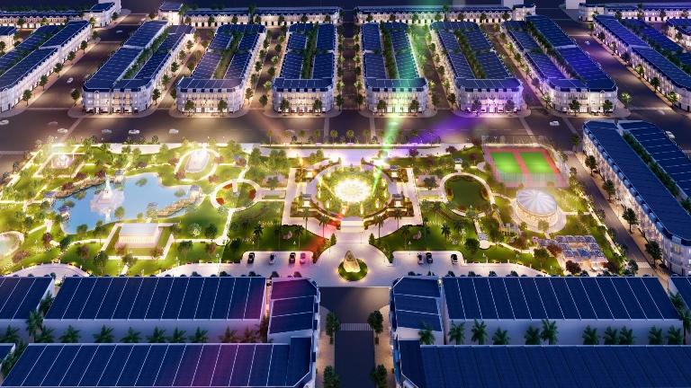 """Dự án Century City tiếp tục là """"điểm sáng"""" đầu tư tại Long Thành. Ảnh: Phối cảnh dự án"""