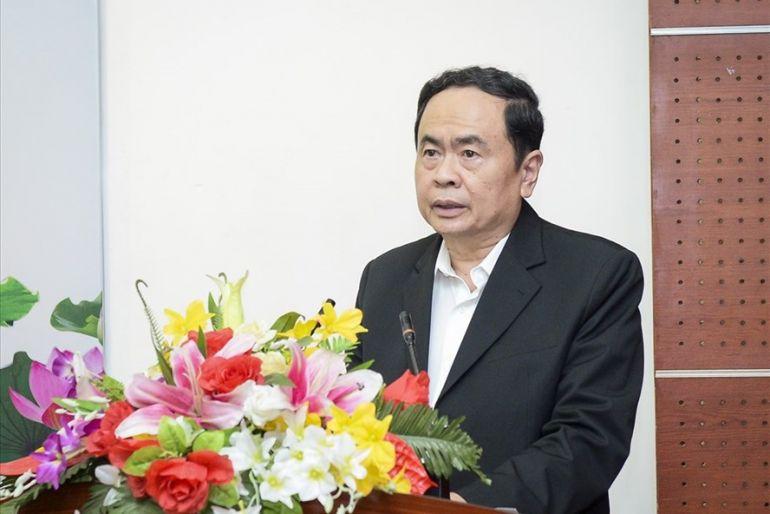 Phó chủ tịch Thường trực Quốc hội Trần Thanh Mẫn chia sẻ áp lực với các ứng cử viên đại biểu Quốc hội