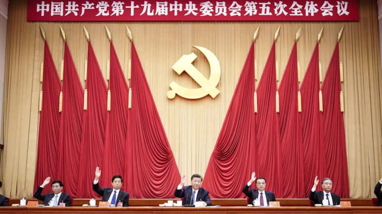 Mối quan tâm mới nhất của các nhà quản lý Trung Quốc đối với Alibaba và Jack Ma bắt nguồn từ những gì được quyết định vào tháng 10 năm 2020 tại phiên họp toàn thể lần thứ năm của Ban Chấp hành Trung ương Đảng Cộng sản Trung Quốc lần thứ 19. © Tân Hoa Xã