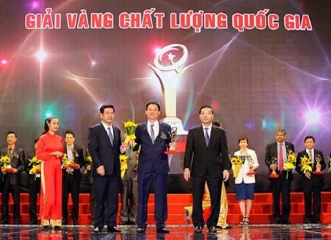 Doanh nghiệp Vĩnh Phúc đạt giải thưởng chất lượng quốc gia năm 2020