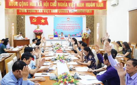 Phú Thọ: Hiệp thương lần 3, lập danh sách những người ứng cử đại biểu Quốc hội khóa XV và đại biểu HĐND tỉnh khóa XIX