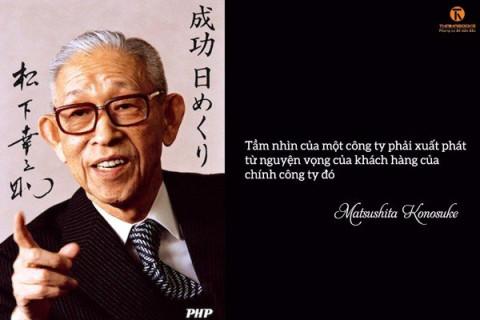 Đường làm tỷ phú gian nan của nhà sáng lập Panasonic