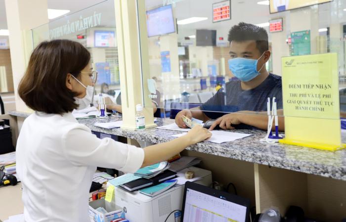 Nơi thi phí và lệ phí tại Trung tâm phục vụ hành chính công tỉnh Phú Thọ
