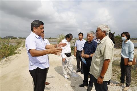 Thứ trưởng Bộ Nông nghiệp và Phát triển nông thôn làm việc tại Khánh Hòa