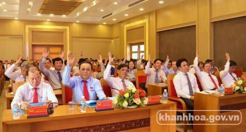 HĐND tỉnh Khánh Hòa: Kỳ họp thứ 15, khóa VI -Phiên họp tổng kết nhiệm kỳ 2016 - 2021