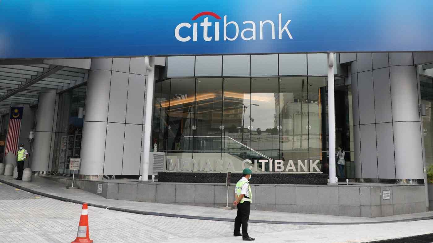 Trụ sở chính của Citibank tại Kuala Lumpur. Ngân hàng Mỹ đang đóng cửa hoạt động kinh doanh bán lẻ ở Malaysia và một số quốc gia khác ở châu Á © Reuters