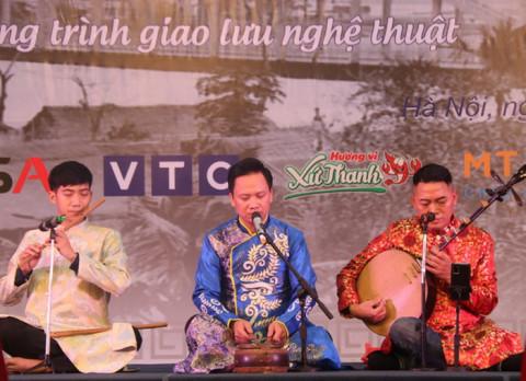 Sức trẻ được tôn vinh tại chương trình giao lưu nghệ thuật Nhịp điệu sông Mã