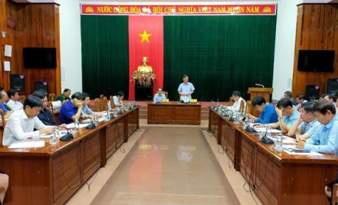 Quảng Bình: Bàn giải pháp đẩy mạnh tiến độ thực hiện và giải ngân kế hoạch vốn đầu tư công năm 2021