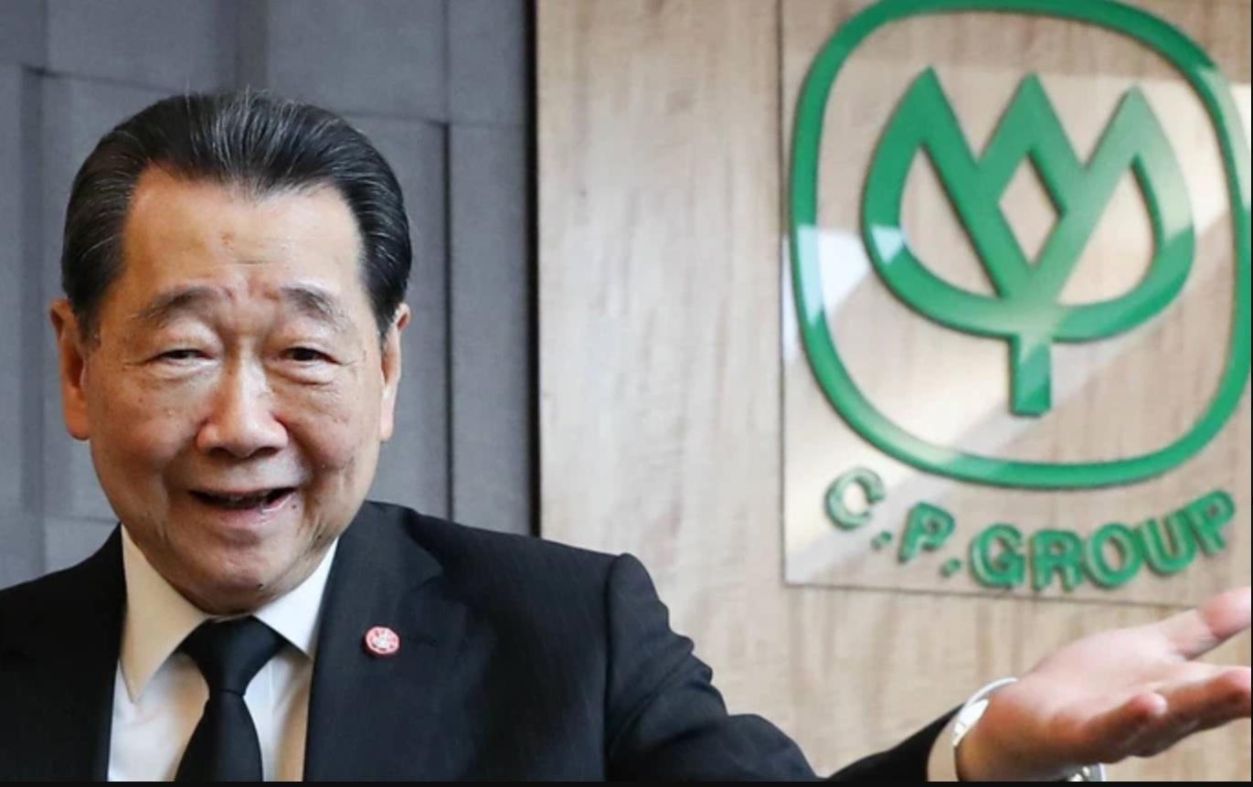 Ông Dhanin Chearavanont, người biến CP Group thành công ty hàng đầu trong lĩnh vực nông nghiệp và thực phẩm tại Thái Lan.