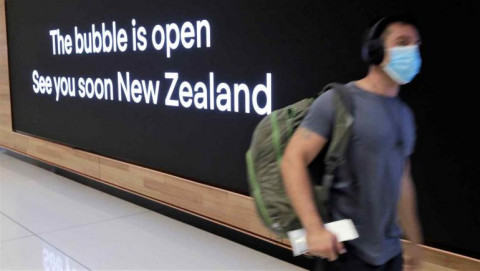 Bong bóng du lịch giữa Úc - New Zealand đã chính thức đi vào hoạt động