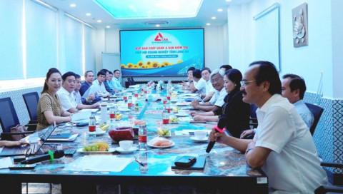 Hiệp hội Doanh nghiệp tỉnh Long An họp triển khai nhiệm vụ năm 2021
