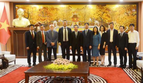 Hợp tác giữa Hà Nội và NordCham