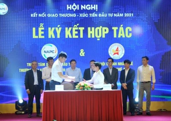 """Nghệ An: Hội nghị """"Kết nối giao thương – Xúc tiến đầu tư năm 2021"""" thu hút 300 doanh nghiệp cả nước tham dự"""
