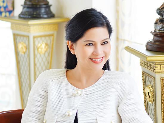 Doanh nhân Lê Hồng Thủy Tiên. Nguồn ảnh: Internet