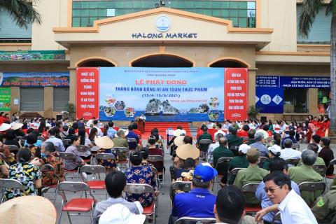 Quảng Ninh cùng doanh nghiệp phát động Tháng hành động vì an toàn thực phẩm năm 2021