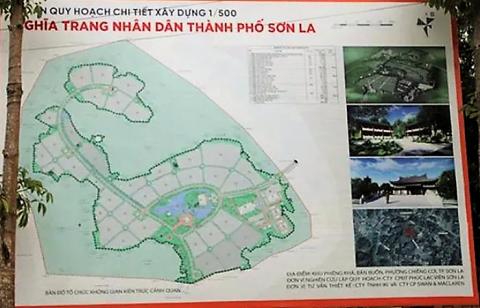 Dừng triển khai Dự án nghĩa trang nhân dân thành phố Sơn La