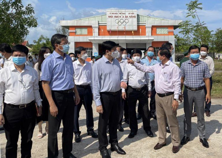 Kiên Giang nâng quy mô bệnh viện dã chiến lên 300-500 giường