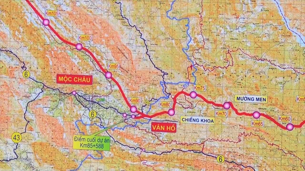 Dự án cao tốc Hòa Bình - Mộc Châu: Xin chuyển sang đầu tư công