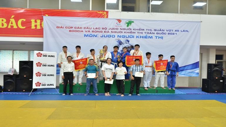 Giải cúp các CLB Judo người khiếm thị toàn quốc 2021 chính thức khởi tranh