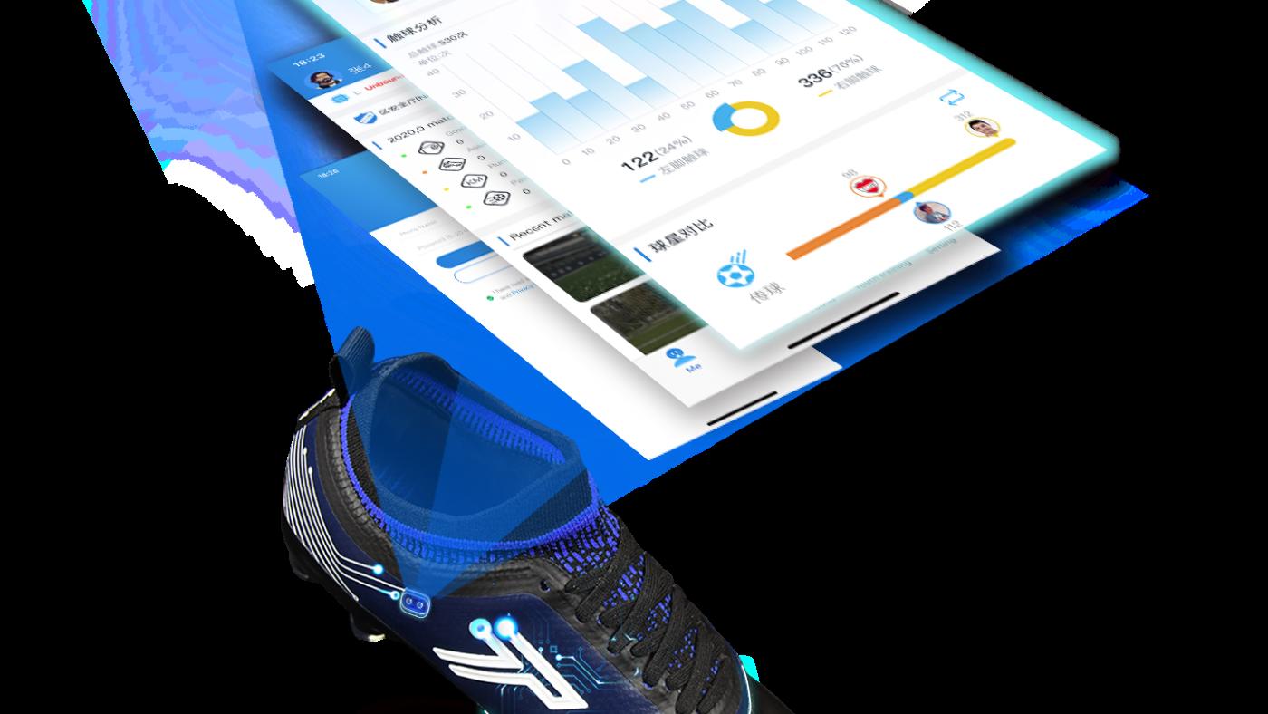 Giày AI tự động theo dõi chuyển động của tất cả các cầu thủ và thu thập dữ liệu. (Ảnh do Micro Team cung cấp)