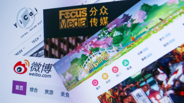Danh mục truyền thông lớn giúp Alibaba tăng doanh thu quảng cáo. (Ảnh của Yuki Kohara)
