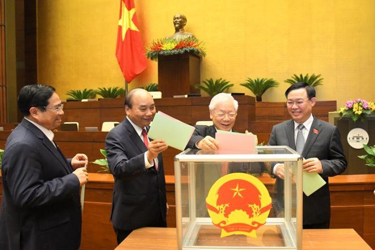 Phân công địa phương ứng cử đại biểu quốc hội của lãnh đạo Đảng và Nhà nước