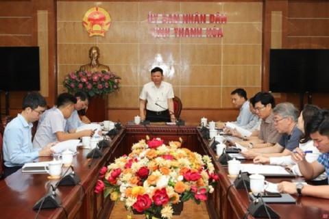 Thanh Hóa: Góp ý dự thảo phương án tổ chức Lễ công bố thành lập thị xã Nghi Sơn và khai trương du lịch biển Hải Hòa